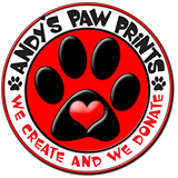 andy's pawprints logo